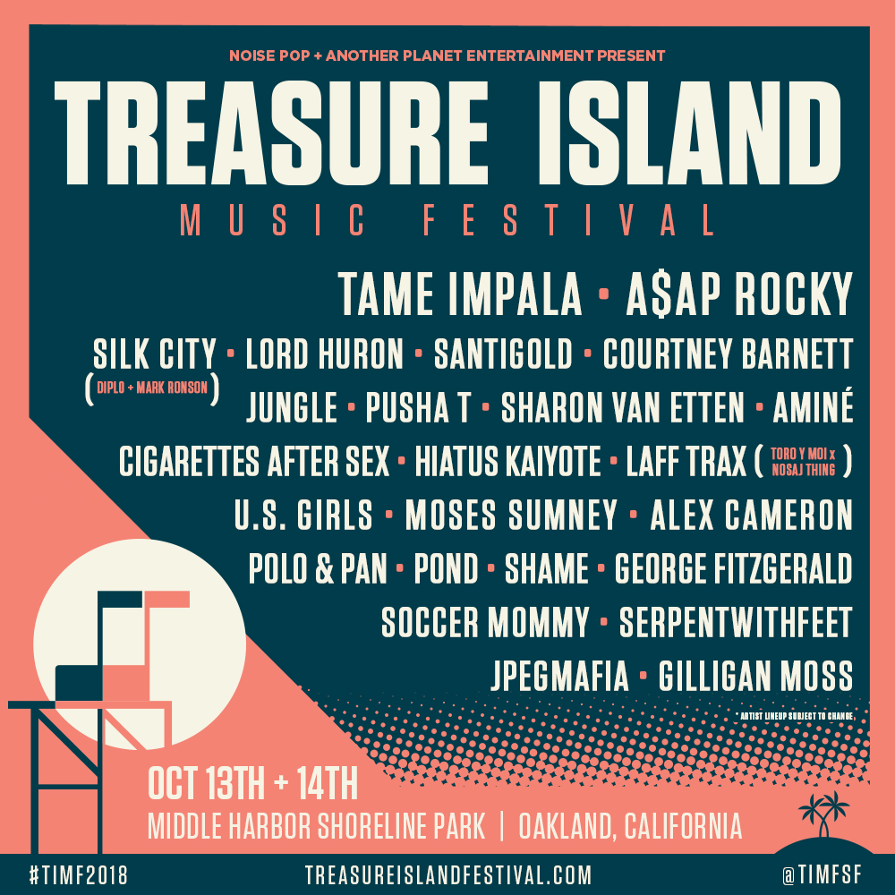 treasure island music fest 2018